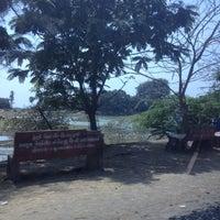 Photo taken at Nargol Beach by Rehaan B. on 4/14/2012
