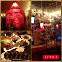 Photo taken at Sake Bar Satsko by Cherish W. on 5/18/2012