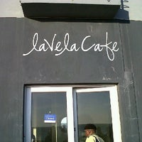 Photo taken at Lavela Cafe by Delia P. on 9/25/2011