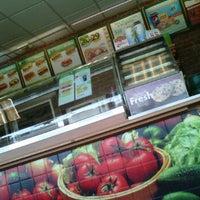 Photo taken at Subway by Rigo S. on 5/23/2012