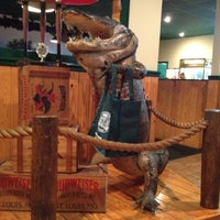 Photo taken at Gator's Dockside by Susan B. on 3/16/2012