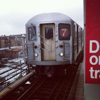 Photo taken at MTA Subway - 7 Train by Stafford G. on 5/25/2012