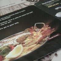 Photo taken at The Manhattan Fish Market by wssoo on 12/5/2011