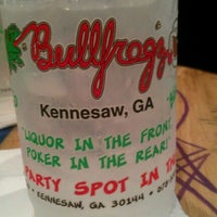 Photo taken at BullFrogz by Sam C. on 4/16/2012