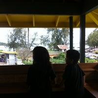 Photo taken at Kalapaki Beach Hut Burgers by Keala R. on 3/25/2012