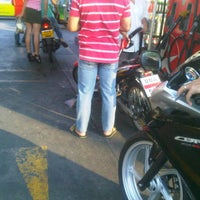 Photo taken at Caltex by Hmang K. on 1/10/2012