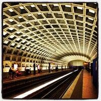 Photo taken at Pentagon City Metro Station by Glenn P. on 7/26/2012