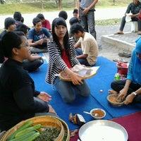 Photo taken at STMIK AKAKOM Yogyakarta by Kharina C. on 5/18/2012