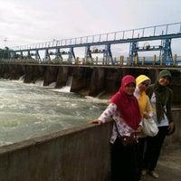 Photo taken at Bendungan Pice by Rina M. on 12/25/2011