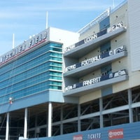 Photo taken at Rentschler Field by Joey B. on 8/22/2012