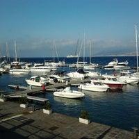Photo taken at Porto di Messina by Sergey I. on 5/2/2012