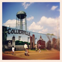 Photo taken at Collierville Town Square / Confederate Park by Adam T. on 5/6/2012