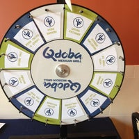 Photo taken at Qdoba Mexican Grill by Aimee B. on 6/1/2012