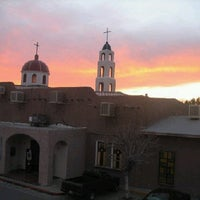 Photo taken at Parroquia de Todos los Santos by David F. on 3/19/2011