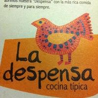 Photo taken at La Despensa Cocina Típica by Juan L. on 6/5/2011