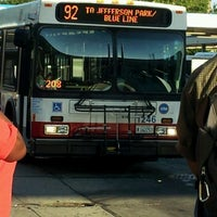 Photo taken at CTA Bus 92 by MAN FROM U. on 6/27/2012