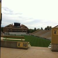 Photo taken at Folsom Field by Ryan S. on 5/16/2012