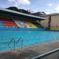 Photo taken at Abellana Swimming Pool by Francis O. on 4/10/2012