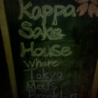 Photo taken at Kappa Sake House by Bunji F. on 12/10/2011