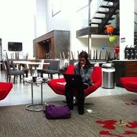 Photo taken at Fairfield Inn & Suites New York Brooklyn by De S. on 10/20/2011