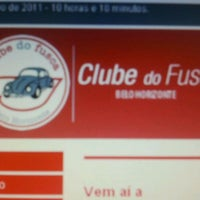 Photo taken at Clube Do Fusca Bh by Luciano M. on 11/22/2011