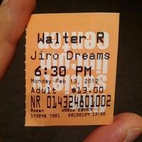 Photo taken at Walter Reade Theater by serko on 2/14/2012