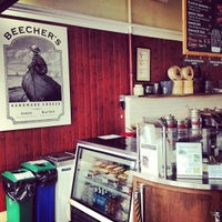 Photo taken at Beecher's Handmade Cheese by David D. on 7/29/2012