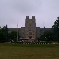 Photo taken at Burruss Hall by VTJawo on 9/3/2011