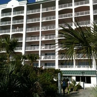 Photo taken at Resort on Cocoa Beach by Tim L. on 3/27/2011