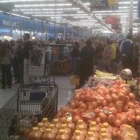 Photo taken at Walmart Supercenter by Jason B. on 11/25/2011