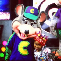 Photo taken at Chuck E. Cheese's by Eric D. on 9/9/2012
