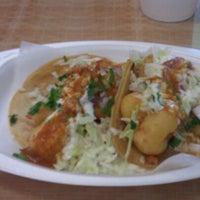 Photo taken at Tacos Baja Ensenada by Eunice C. on 5/5/2012