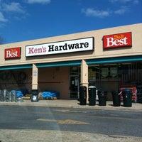 Photo taken at Ken's Hardware by Dan T. on 3/13/2011