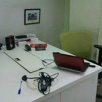 Photo taken at ZopNow Office by Birla on 9/10/2011