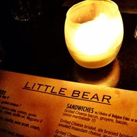 Photo taken at Little Bear L.A. Restaurant by MARiCEL on 1/26/2012