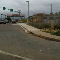 Photo taken at MCB Camp Pendleton - Main Gate by Jewell A. on 6/15/2012