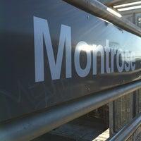 Photo taken at CTA - Montrose by Chris B. on 1/10/2012