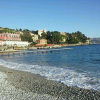 Photo taken at Lungomare di Santa Margherita Ligure by Marco P. on 12/31/2011