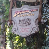 Photo taken at Indiana Jones Adventure by Todd S. on 11/22/2011