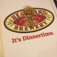 Photo taken at Heartland Brewery by Heather S. on 4/29/2012