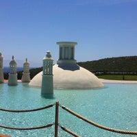 Photo taken at Kempinski Hotel Barbaros Bay by Andac O. on 4/26/2012
