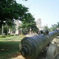 Photo taken at Chowmahala Palace by Vishi G. on 5/20/2012