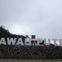 Photo taken at Kawah Putih by Miita A. on 4/27/2012
