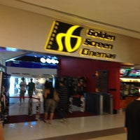 Photo taken at Golden Screen Cinemas (GSC) by Orange W. on 4/30/2012