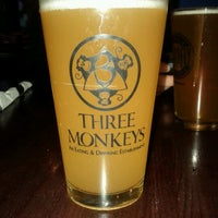 Photo taken at Three Monkeys by Anna G. on 3/4/2012