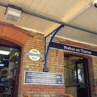 Photo taken at Walton-on-Thames Railway Station (WAL) by Sarah M. on 5/27/2012
