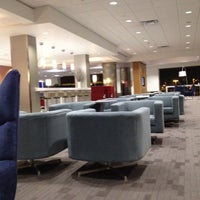 Photo taken at Delta Sky Club by Sean M. on 3/7/2012