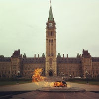 Photo taken at Parliament Hill by Kristopher S. on 4/30/2012