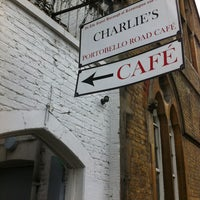 Photo taken at Charlie's Café by Enrico Maria C. on 4/8/2012