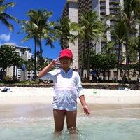 Photo taken at Aston Waikiki Beach Hotel by Lesley K. on 8/1/2012
